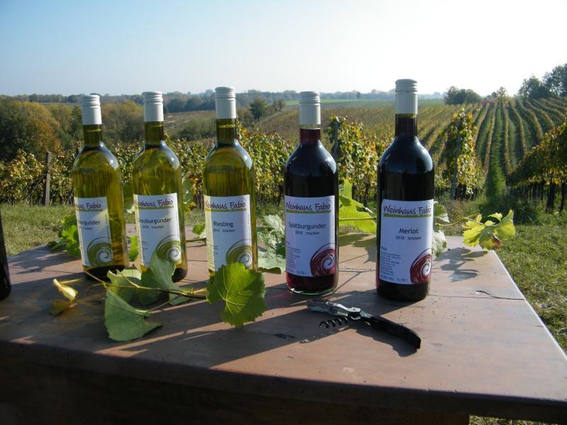 Weinprobe und Wandern