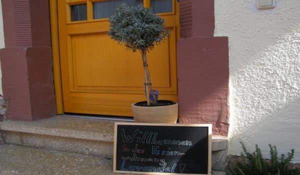 Ferienwohnung in der Pfalz