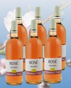 Biowein Rosé Weinpaket